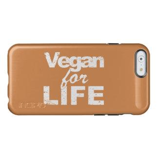 Vegan for LIFE (wht) Incipio Feather® Shine iPhone 6 Case