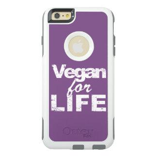 Vegan for LIFE (wht) OtterBox iPhone 6/6s Plus Case