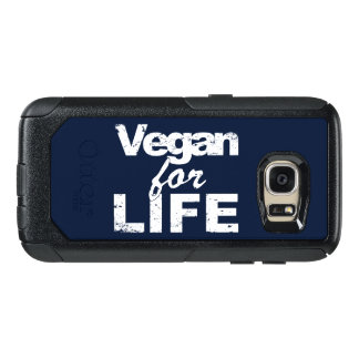 Vegan for LIFE (wht) OtterBox Samsung Galaxy S7 Case