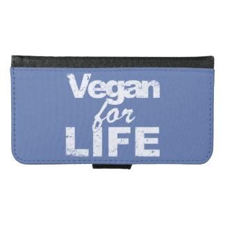Vegan for LIFE (wht) Samsung Galaxy S6 Wallet Case