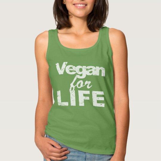 Vegan for LIFE (wht) Tank Top