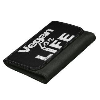 Vegan for LIFE (wht) Women's Wallet