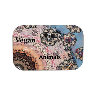 Vegan for the animals lunch box