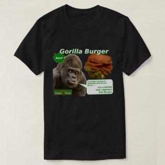Vegan Fresh Gorilla Burger T-Shirt