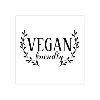 Vegan Friendly Rubber Stamp