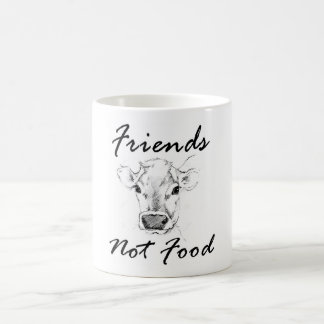 Vegan Friends Not Food Mug