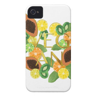 Vegan fruit Case-Mate iPhone 4 case