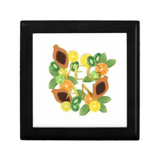 Vegan fruit gift box