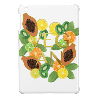 Vegan fruit iPad mini cover