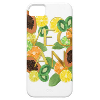 Vegan fruit iPhone 5 case
