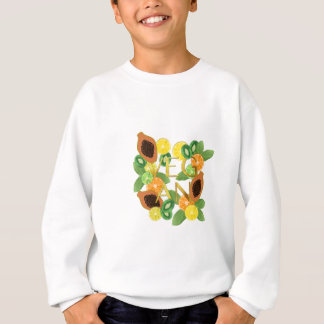 Vegan fruit sweatshirt