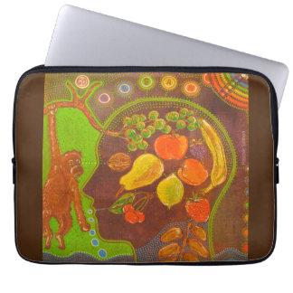 Vegan fruits computer cover