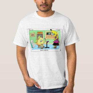 """Vegan Giftables """"Peach Cobbler"""" Men's T-Shirt XL"""