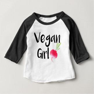 """Vegan Girl"" beets baby Baby T-Shirt"