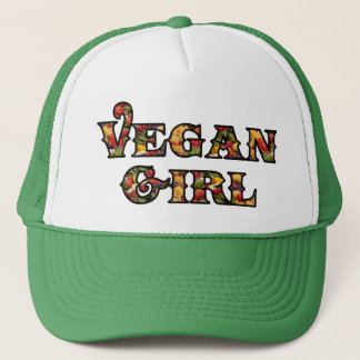 Vegan Girl Trucker Hat