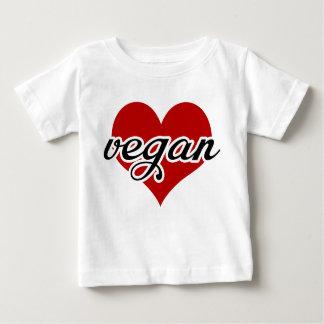 Vegan Heart Baby T-Shirt