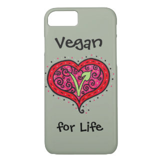 Vegan Heart Case-Mate iPhone Case