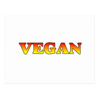 Vegan in Flames Postcard