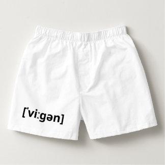 Vegan (IPA) Boxers