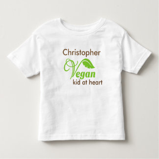 Vegan Kid At Heart Toddler T-shirt