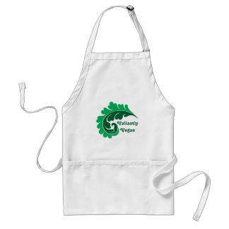 Vegan leafy green standard apron