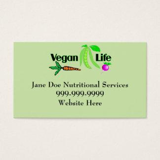 Vegan Life Business Cards
