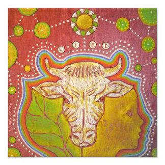 Vegan life card