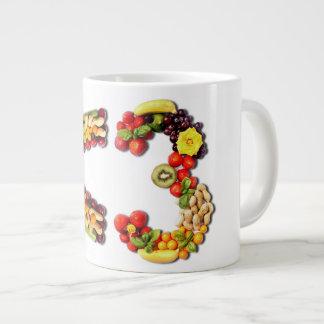 VEGAN LOVE -  <3 Smart Heart Large Coffee Mug