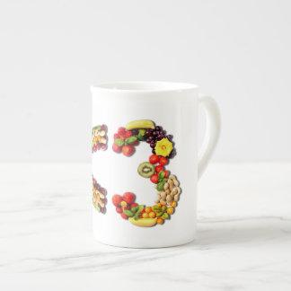 VEGAN LOVE -  <3 Smart Heart Tea Cup
