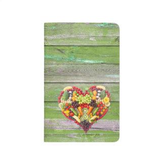 Vegan Love my heart Journal