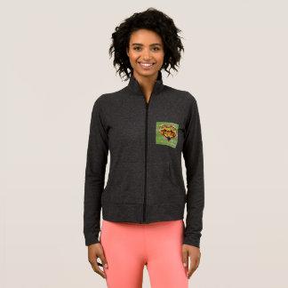 VEGAN LOVE -  your Heart Green Wood Jacket