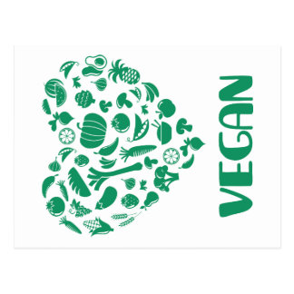Vegan Lover Postcard