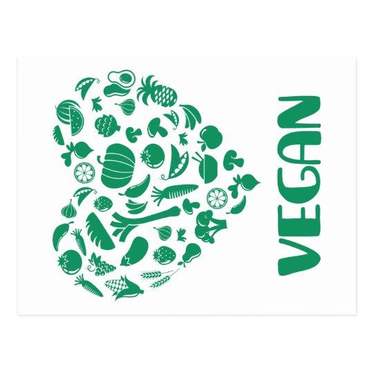 Vegan Lover Postcard