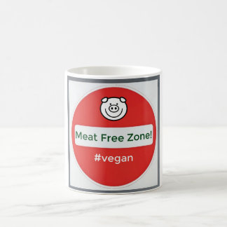 Vegan - Meat Free Zone Mug
