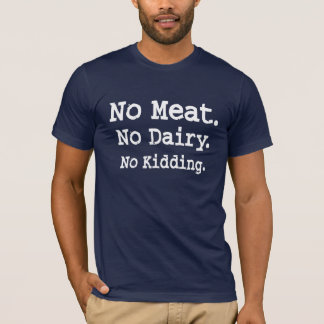 Vegan Message with Attitude T-Shirt