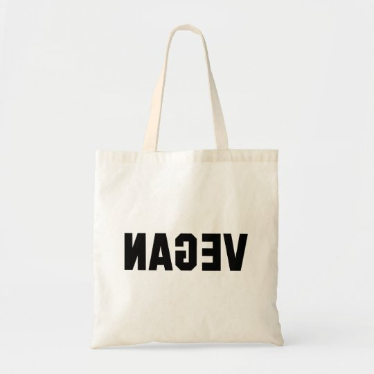 VEGAN (Mirror Image) Tote Bag