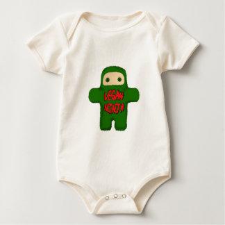 Vegan Ninja Baby Bodysuit