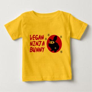 Vegan Ninja Bunny Baby T-Shirt
