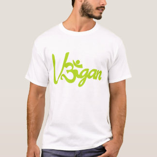 Vegan Om Sign T-shirt