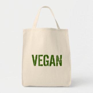 VEGAN organic grocery tote