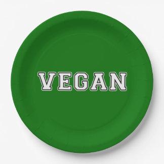 Vegan Paper Plate