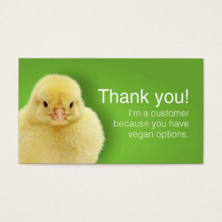 Vegan patron cards (English)