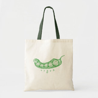 Vegan Pea Pod Tote