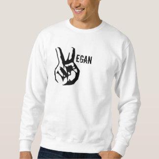 Vegan peace sweatshirt