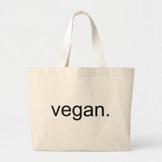 Vegan.  Period! Jumbo Tote Bag