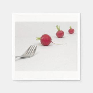 Vegan perspective napkins disposable napkin