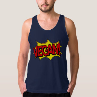 VEGAN POP ART TANK TOP