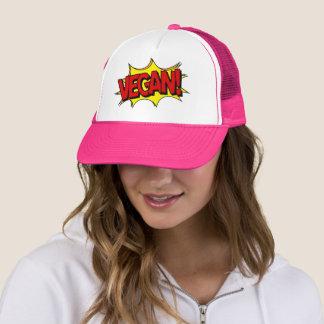 VEGAN POP ART TRUCKER HAT