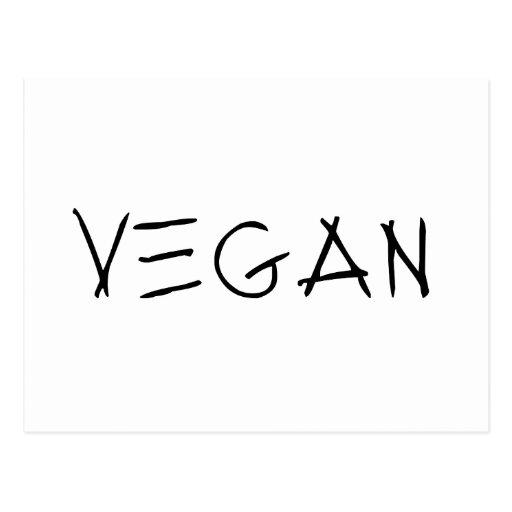 Vegan Post Card