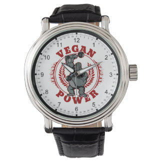 Vegan Power Bodybuilder Gorilla Watch